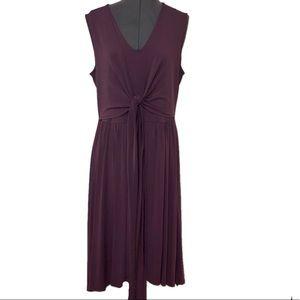 Noir NWOT Women Sleeveless Knot / layered dress L